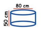 Buis beton 80 X 50 bulat